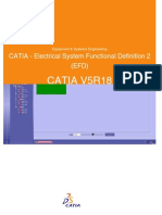 CATIA - Electrical System Functional Definition 2 (EFD)