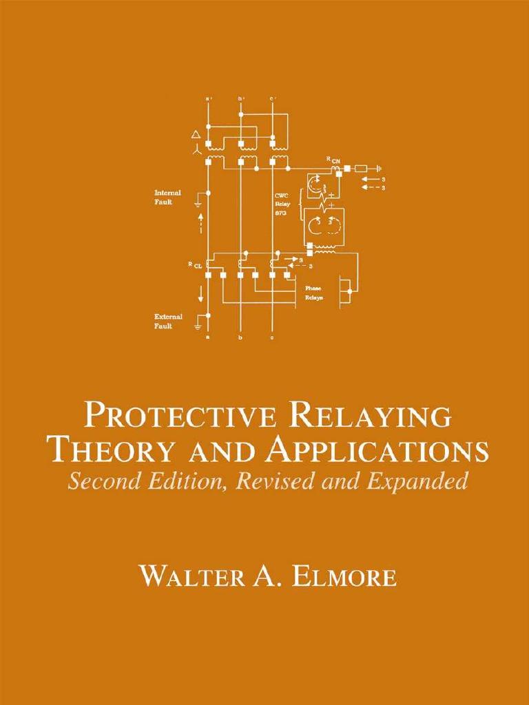 Marceldekkerprotectiverelayingtheoryandapplications2ndebook Wiring Diagram Panel Synchron Tlfebook Relay Electric Power System