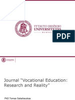 "[PowerPoint version - slides] - Journal ""Vocational Education"
