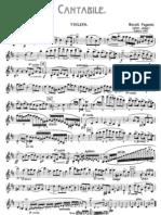 IMSLP57892-PMLP113643-Paganini Cantabile Op17 Violin