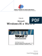 Apostila de Windows 95 e Word 97