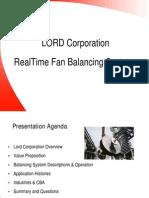 Lord Fan Balancer Presentation