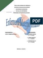 ENFERMERIA MATERNO INFANTIL