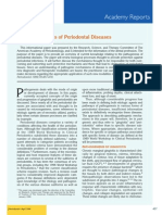 Pathogenesis of Periodontal Diseases