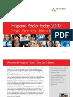 Hispanics Radio Today 2010