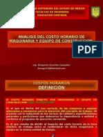 2.- Analisis Del Costo Horario