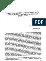 Juarroz x Miguel Zugasti La Rehumanizacion de Una Poesia Tan Vertical