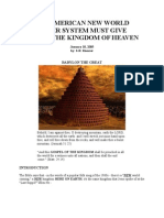 The American New World and the Kingdom of God - S.R Shearer