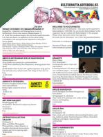 Kulturnatta 9 Oct 2010- Program