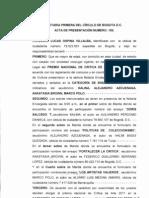 PNC VII acta de la notaría