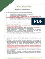 Exercicios Comentados Direito Previdenciario - 05-12-09