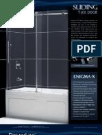 DreamLine Showers Sliding Tub Doors