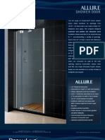 DreamLine Showers Shower Doors Allure
