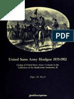 United States Army Headgear 1855-1902