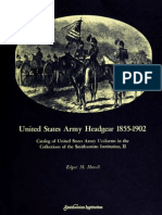 United States Army Headgear 1855-1902