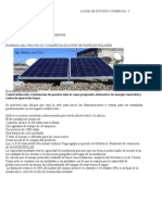 Estudio Economico y Financiero de Energia Solar