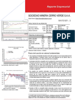Reporte Economico Cerro Verde 1