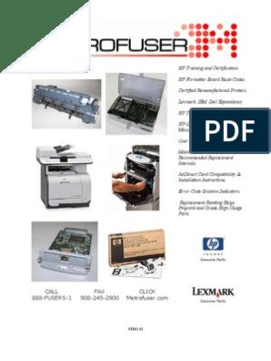 150000 Page-Yield C4110 Premium Compatible Maintenance Kit