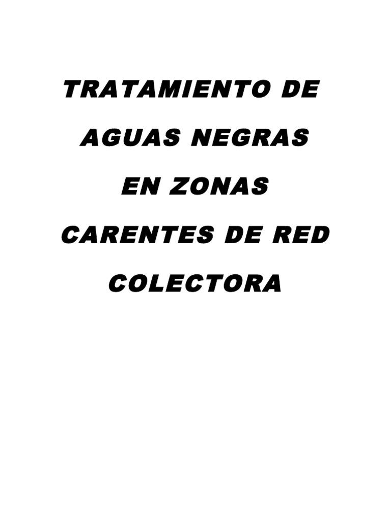 Tratamiento de Aguas Negras CR
