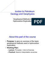 Geophysical Methods in HC Exploration