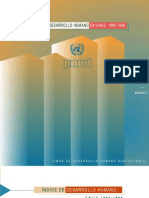 Indice Desarrollo Humano en Chile