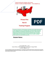 Syllabi Part Private Pilot Training 5-12-11