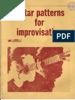 Guitar Patterns for Improvisation - W. Fowler