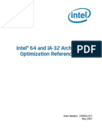 Intel 64 and IA-32 Architectures Optimization Reference Manual