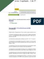 RDC 33 gerenciamento residuos