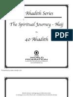 A Hadith Series The Spiritual Journey Hajj