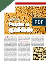 avaliação perdas de qualidade da soja