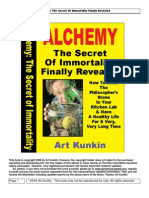 Alchemy the Secret of Immortality
