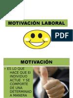 MOTIVACIÓN LABORAL