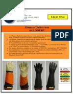 Salisbury guantes dielectricos