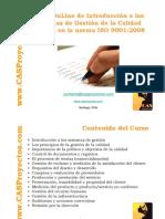 Norma ISO 9001 acerca de sistemas de gestion de la calidad