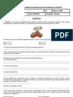 Lista Exercicio Ciencias 6ano 30 03