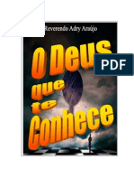 O Deus que te conhece - Adry Ara£jo