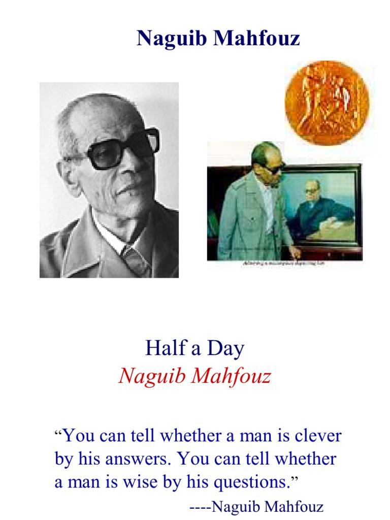 half a day by naguib mahfouz theme
