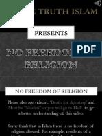 4. Freedom of Religion