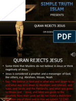 15. the Quran Rejects Jesus