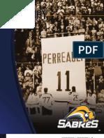2008-2009 Buffalo Sabres Media Guide History