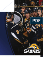 2008-2009 Buffalo Sabres Media Guide Players