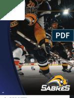 2008-2009 Buffalo Sabres Media Guide Playoffs