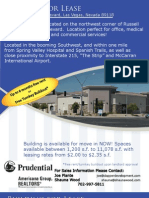 Retail / Office Space For Lease in Southwest Las Vegas at the corner of Russell Road and Jones Boulevard - Space between 1,200 to 11,087 s.f.