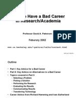 Bad Career 3