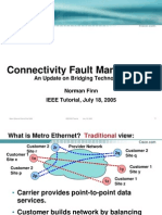 Metro Ethernet Connectivity Fault Management