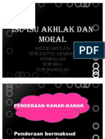 Isu-Isu Akhlak Dan Moral