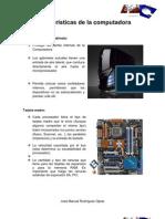 Características de la computadora