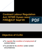 Contract Labour Regulation Act