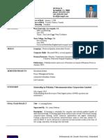 University CV Template Updated